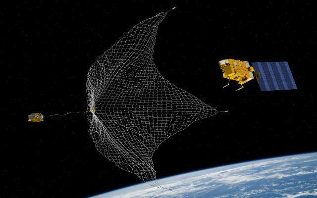 space debris catch it if we can the clean space blog