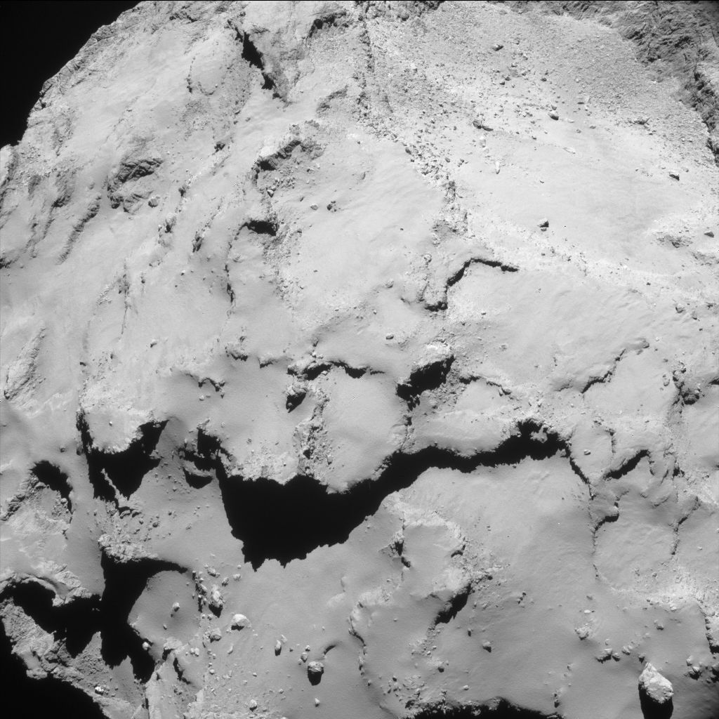 23:56 UT 29 September ESA/Rosetta/NAVCAM – CC BY-SA IGO 3.0