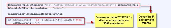 Código keylogger