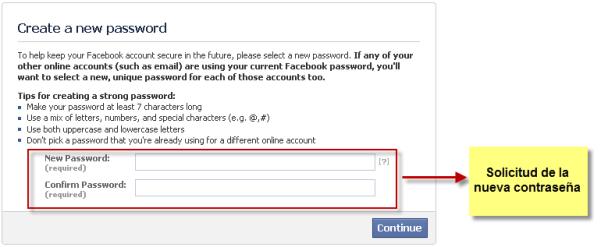 Facebook Vulnerabilidad formulario de recuperación