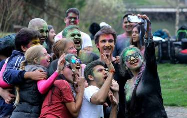 InSAZ Holi Celebration (Apr, 2016)