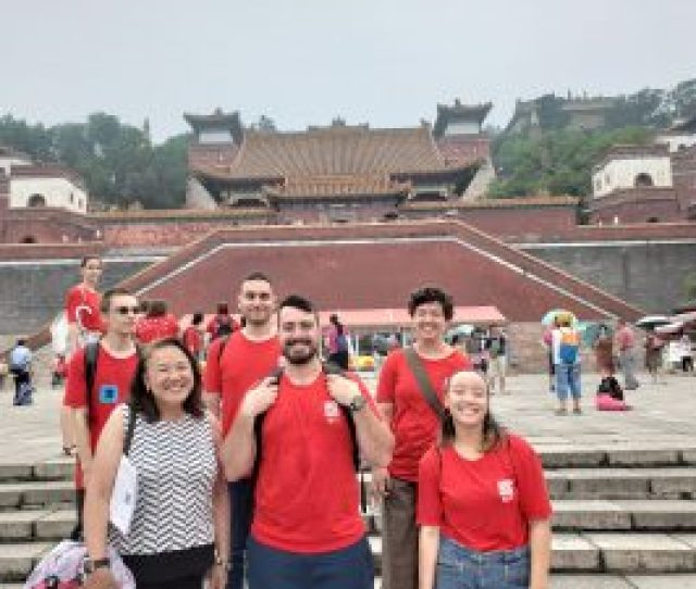 Our 2011 Summer Study Trip Started In Shanghai Tongji University Students Also Travel To The Western China To Visit The Historical Longmen Grotto And Xian