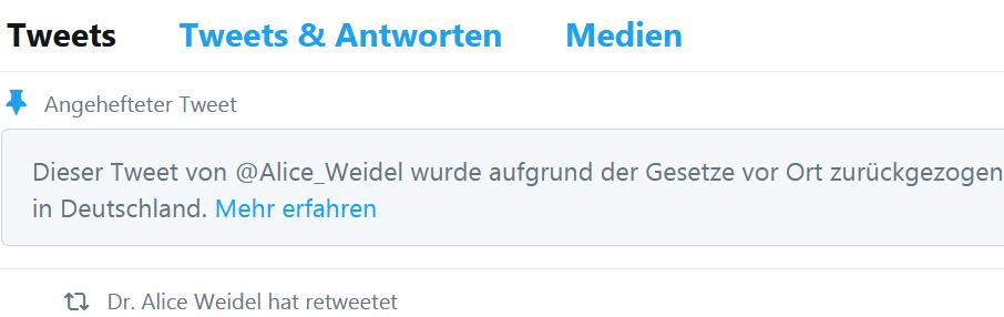 Der Private Hass Hinter Dem Niedernetzen Von Alice Weidel Deus Ex Machina