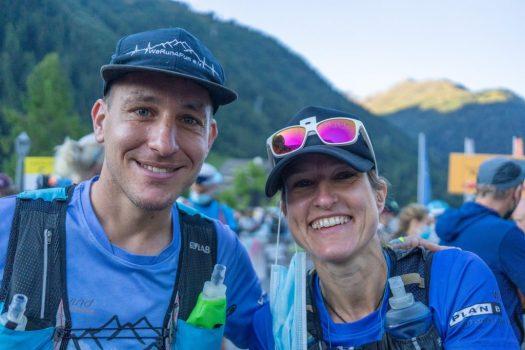 Pia Winkelbach und Benjamin Klöppel beim Transalpine Run