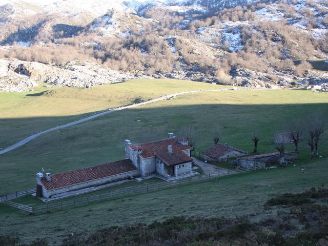 Refugio de pastores, hoy albergues
