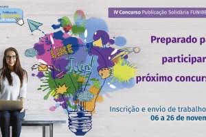 A FUNIBER dá início à IV Edição do Concurso Publicação Solidária