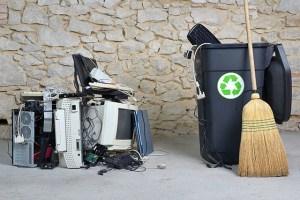 Cresce o acúmulo de lixo eletrônico