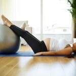 Evite a depressão pós-parto praticando exercício