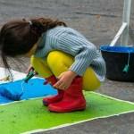 Sendas coloridas para proteger a los peatones