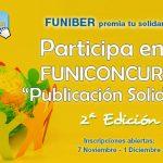 """2ª edición del CONCURSO """"Publicación Solidaria"""" de FUNIBER"""