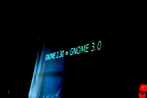 GNOME 2.3 = GNOME 3