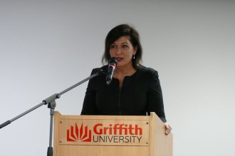 Honourable Leeanne Enoch MP – the Minister for Environment and the Great Barrier Reef, Minister for Science.