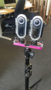 360 Camera Set up for Underwater Shoots