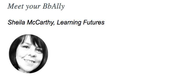 Meet your BbAlly, Sheila McCarthy
