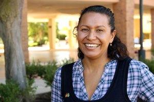 Indigenous midwifery student Gwen Blom