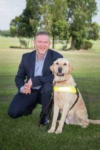 Dan English, CEO Guide Dogs Queensland