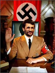 ahmedinejad as hitler