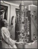 Electron microscope. Fung Library SLPE_19