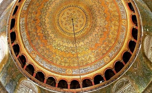 Inside-view-of-the-Dome-of-the-Rock