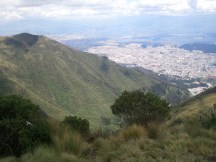 Quito from the TelefériQo