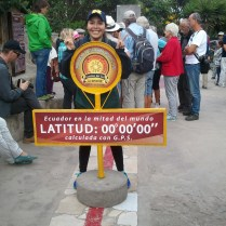 Standing on both the northern and southern hemispheres