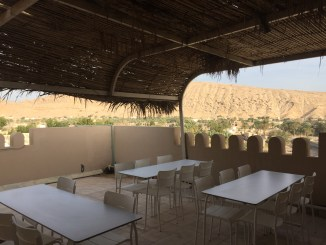 Roof top classroom/ lunchroom