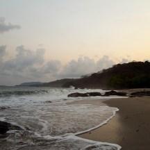 A last look at the beach.