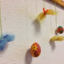 More Easter/Sprintime decorations made by the ladies.