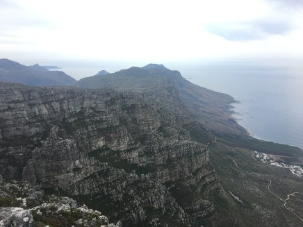 The top of Table Mountain