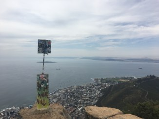 The top fo Lion's Head