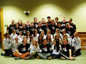 Here is a picture of all my Nykerk Play Family. (Notice the struggle that is happening with this group picture).