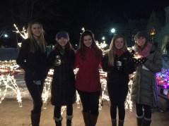 Keagan, me, Hannah, Rachel, and Michelle!