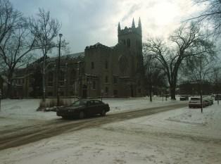 A beautiful shot of Chapel.