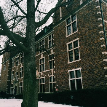 Just a picture of my favorite building on campus: Lubbers Hall!