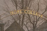 The Hope College arch through which countless students have walked beneath on their journeys across our stunning campus.