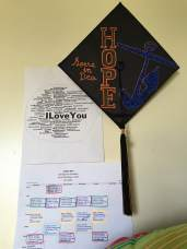 My Hope-y graduation cap