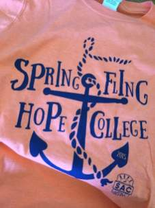 The Free t-shirt from this year's Spring Fling