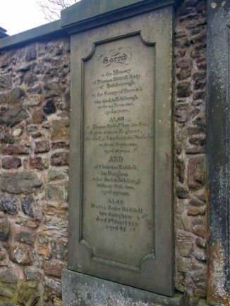 J.K. Rowling walked through this cemetery often and got her inspiration for many names in the book from here. This gravestone bears the name Tom Riddle - sound familiar?
