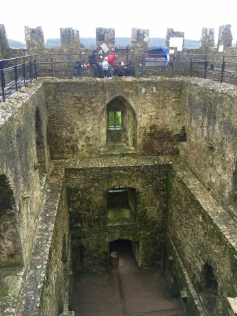 Here is the Blarney Castle! On the very top you can see people getting ready to kiss the Blarney Stone. It's quite an experience!
