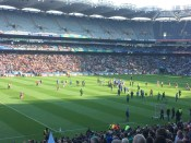 The Hurling Finals were my favorite event of the day. The crowd was fantastic!