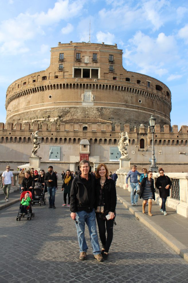 We also went inside Castel Sant Angelo