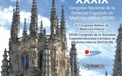La Unidad de Medicina Interna de nuestro Servicio participará activamente en el próximo Congreso Nacional de la Sociedad Española de Medicina Interna (#39SEMI)