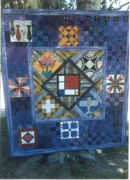The 2009 Montana Men Quilt group quilt