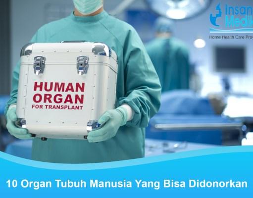 Donor organ tubuh manusia