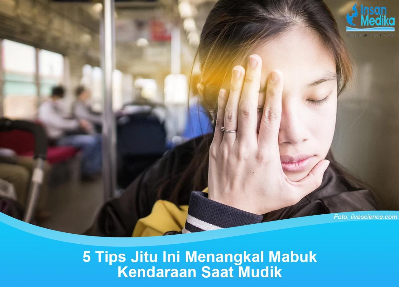 5 Tips Jitu Tangkal Mabuk Darat saat Mudik