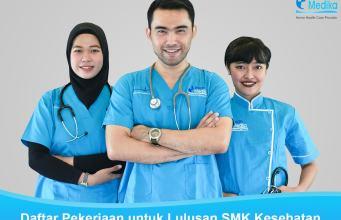 Daftar pekerjaan untuk lulusan SMK Kesehatan