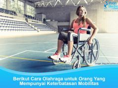 Olahraga untuk orang yang mempunyai keterbatasan fisik atau disabiltas