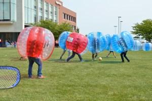 Bubble Soccer. Photo by E.J. Wood.