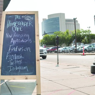 Former JCCC student Megan Kendall and husband Jeremy are currently in the process of opening the Homesteader Cafe the last week of September. Located in downtown Kansas City, MO, the Homesteader Cafe will focus on garden to table American cuisine.