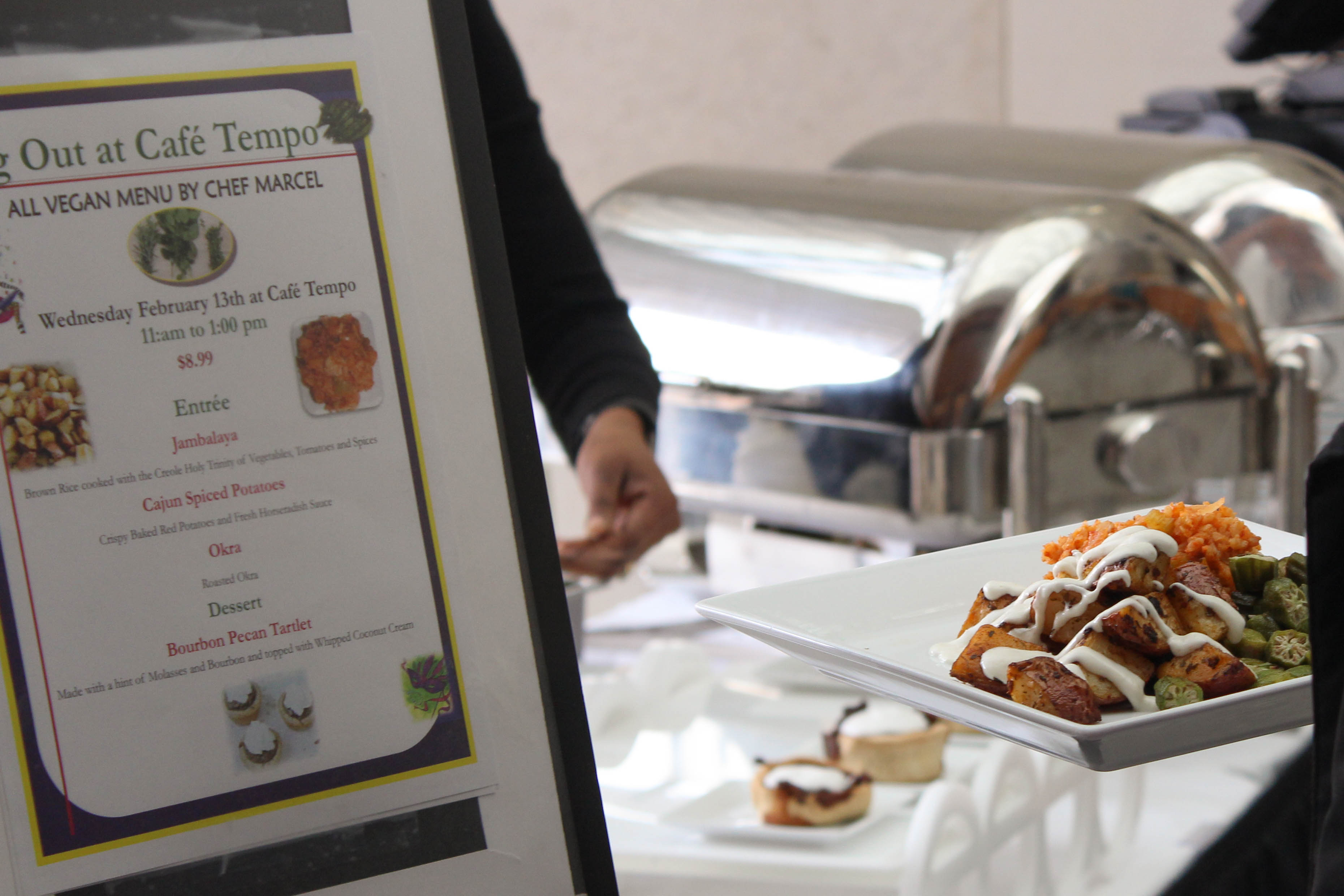 Gallery: Veg Out gives students an opportunity to try vegan